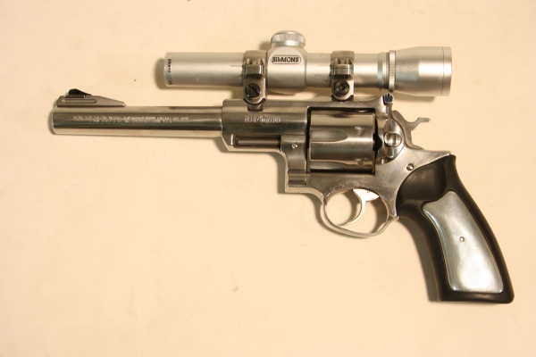 Ruger Super Redhawk caliber .44m/.44sp